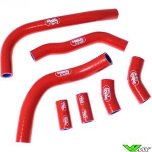Radiateurslangen Samco sport Rood - Honda CRF450R