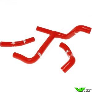 Radiatorhoses (Y) Samco sport red - Suzuki RMZ250