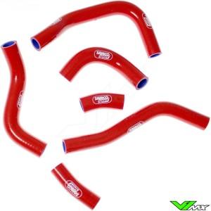 Radiatorhoses Samco sport red - Honda CRF450R