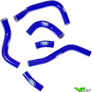Radiatorhoses Samco sport blue - Honda CRF450R