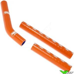 Radiatorhoses Samco sport orange - KTM 125SX 144SX 150SX