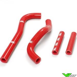 Radiatorhoses Samco sport red - Honda CRF150R