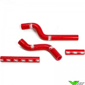Radiatorhoses Samco sport red - Yamaha YZF250