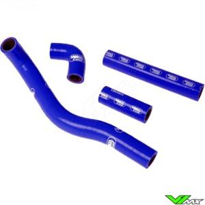 Radiatorhoses Samco sport blue - Kawasaki KX500