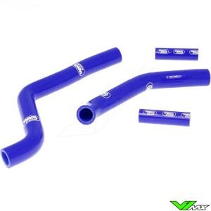 Radiatorhoses Samco sport blue - Kawasaki KX125