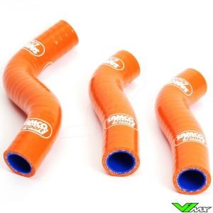 Radiatorhoses Samco sport orange - KTM 250SX-F