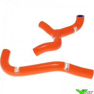 Radiatorhoses Samco sport orange - KTM 65SX