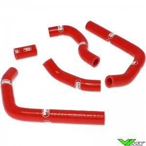 Radiatorhoses Samco sport red - Honda CR125
