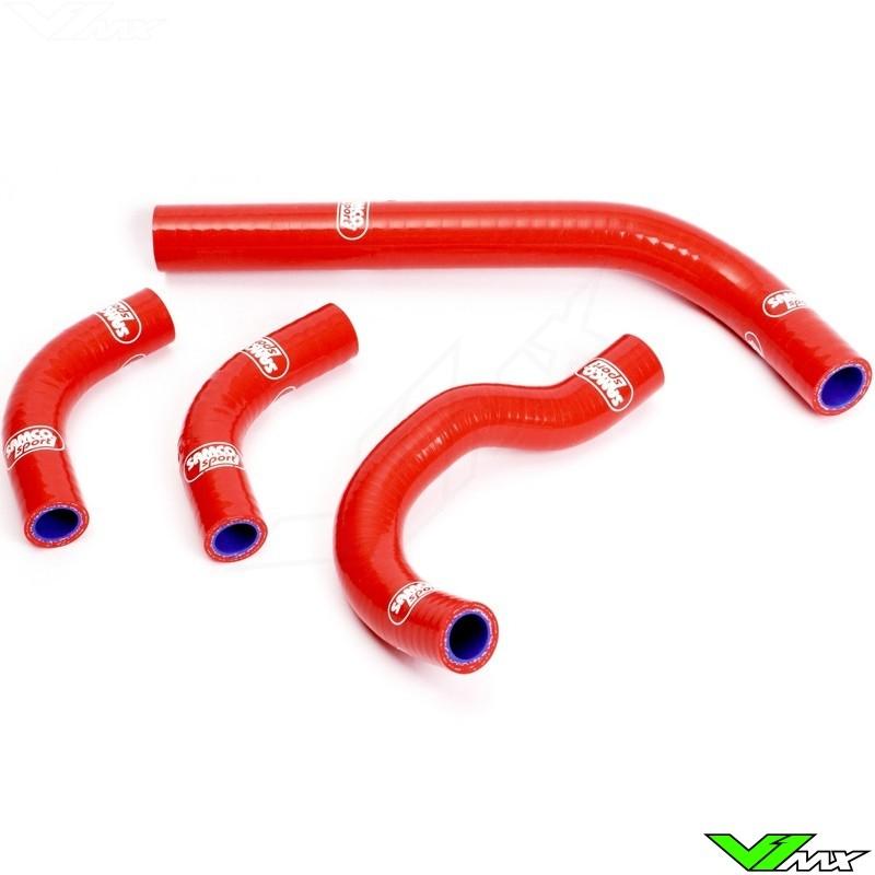 Radiatorhoses Samco sport red - Honda CRF250R CRF250X