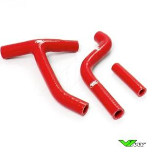 Radiatorhoses (Y) Samco sport red - Yamaha YZF250
