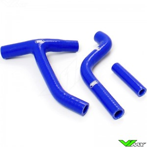Radiateurslangen (Y) Samco sport Blauw - Yamaha YZF250