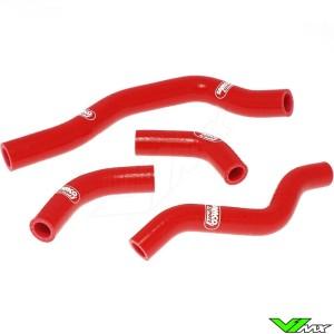 Radiatorhoses Samco sport red - Honda CRF450X