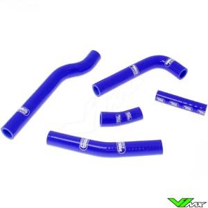 Radiatorhoses Samco sport blue - Yamaha WR450F