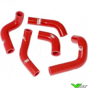 Radiatorhoses Samco sport red - Husqvarna TE400 TE450 TE510