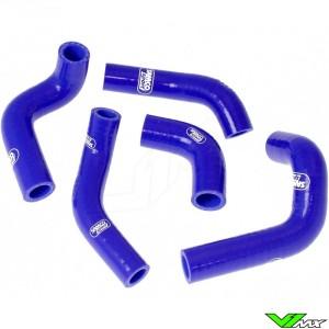 Radiatorhoses Samco sport blue - Husqvarna TC450 TC510