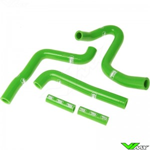 Radiatorhoses Samco sport green - Kawasaki KX250