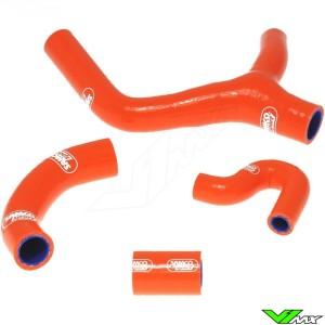 Radiatorhoses (Y) Samco sport orange - KTM 400EXC 450EXC