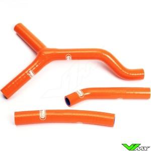 Radiateurslangen (Y) Samco sport Oranje - KTM 125SX 250SX 125EXC 250EXC 300EXC