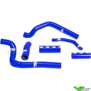 Radiatorhoses Samco sport blue - Honda CR500
