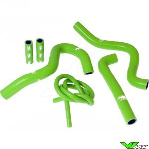 Radiateurslangen Samco sport Groen - Kawasaki KX250