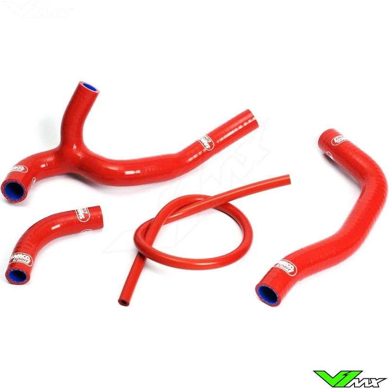 Radiatorhoses (Y) Samco sport red - Honda CRF450R