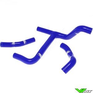 Radiatorhoses (Y) Samco sport blue - Suzuki RMZ250