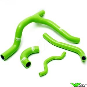 Radiatorhoses (Y) Samco sport green - Kawasaki KXF250