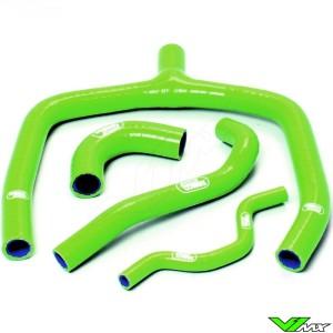 Radiateurslangen (Y) Samco sport Groen - Kawasaki KXF250