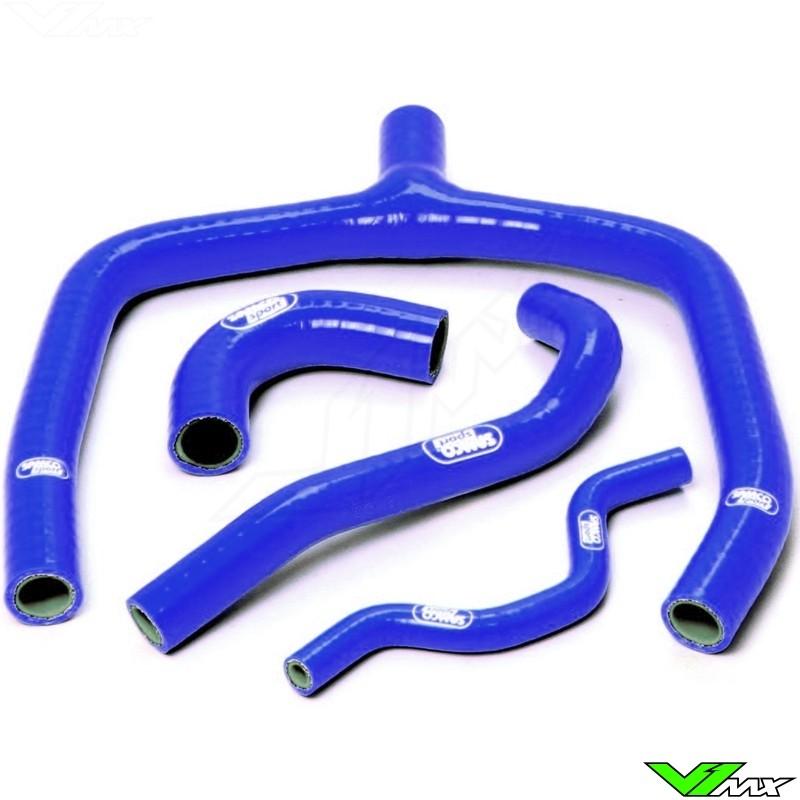 Radiatorhoses (Y) Samco sport blue - Kawasaki KXF250