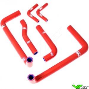 Radiatorhoses Samco sport red - GasGas EC125 EC200 EC250 EC300