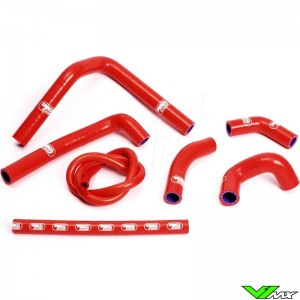 Radiatorhoses Samco sport red - Honda CR250