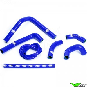 Radiatorhoses Samco sport blue - Honda CR250