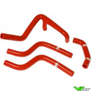 Radiatorhoses Samco sport red - Husqvarna CR250 WR250 WR360