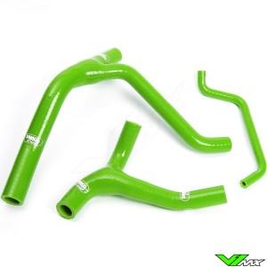Radiatorhoses (Y) Samco sport green - Kawasaki KXF450