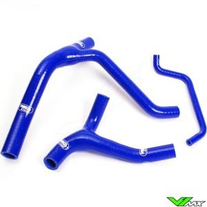 Radiateurslangen (Y) Samco sport Blauw - Kawasaki KXF450