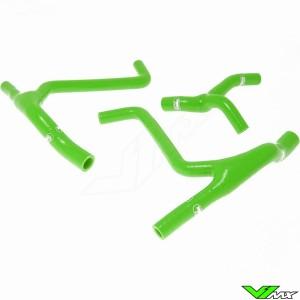 Radiateurslangen (Y) Samco sport Groen - Kawasaki KXF450