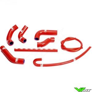 Radiatorhoses Samco sport red - Honda XR650R