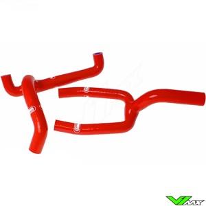 Radiatorhoses (Y) Samco sport red - Husqvarna CR125 WR125