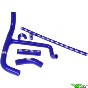 Radiatorhoses (Y) Samco sport blue - Husaberg FE450 FE550 FE650 FX650