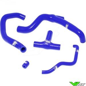Radiatorhoses (Y) Samco sport blue - Husaberg FE450 FX450