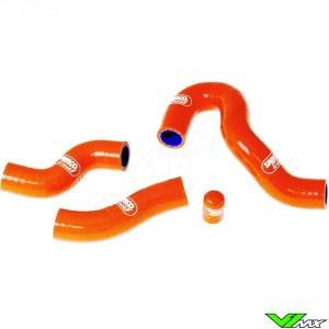 Radiatorhoses (Y) Samco sport orange - KTM 450EXC 500EXC Husqvarna FE450 FE501