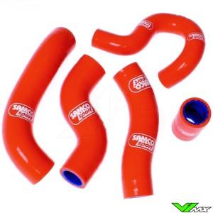 Radiateurslangen (Y) Samco sport Oranje - KTM 450EXC 500EXC Husqvarna FC450 FE450 FE501