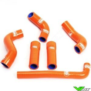 Radiatorhoses Samco sport orange - KTM 520SX 525SX 450SX-F 450EXC 520EXC 525EXC