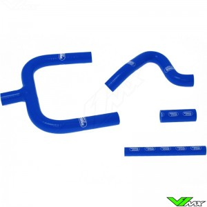 Radiatorhoses (Y) Samco sport blue - TM MX85