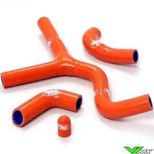 Radiateurslangen (Y) Samco sport Oranje - KTM 520SX 525SX 450SX-F 450EXC 520EXC 525EXC