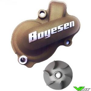 Water pump Supercooler Boyesen magnesium - KTM 450SX-F 450EXC 500EXC Husqvarna FC450 FE450 FE501