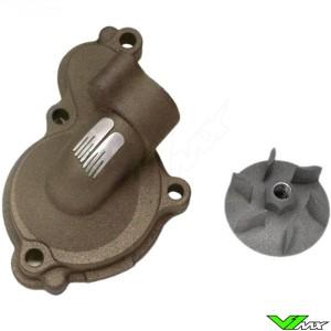 Water pump Supercooler Boyesen magnesium - Yamaha YZF450 GasGas EC450F