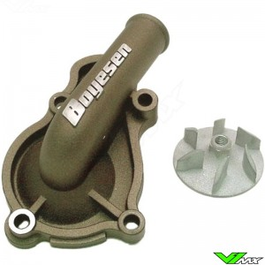 Water pump Supercooler Boyesen magnesium - Honda CRF450R