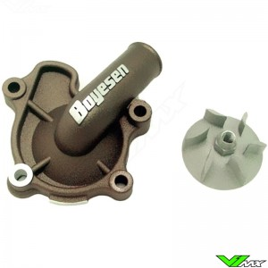 Water pump Supercooler Boyesen magnesium - Honda CRF250R CRF250X