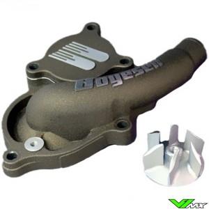 Water pump Supercooler Boyesen magnesium - Suzuki RMZ250